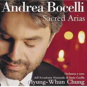 Sacred Arias album cover