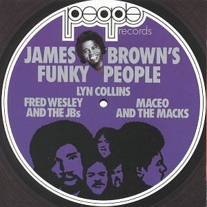 James Brown's Funky People album cover