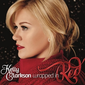 Wrapped In Red album cover
