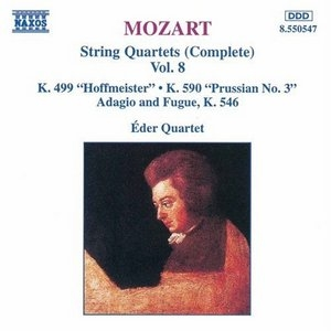 Mozart: Complete String Quartets Vol.8 album cover