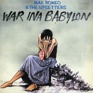 War Ina Babylon album cover