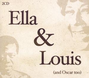 Ella & Louis  (& Oscar Too) album cover