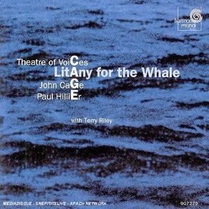 Cage: Litany For The Whale album cover