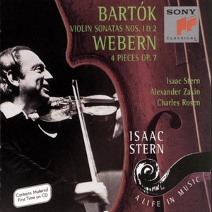 Bartók: Violin Sonatas Nos.1 & 2, Webern: 4 Pieces album cover