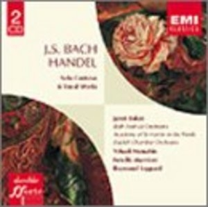 JS Bach, Handel: Solo Cantatas And Vocal Works album cover