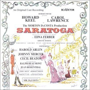 Saratoga (1959 Original Broadway Cast) album cover