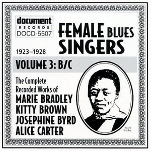 Female Blues Singers Vol.3 B&C (1923-1928) album cover