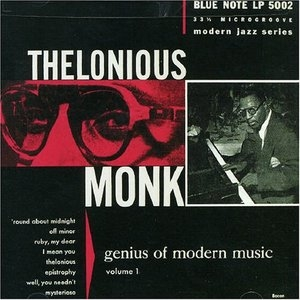 Genius Of Modern Music Vol.1 album cover