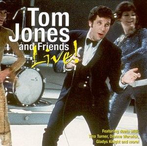 Tom Jones And Friends Live album cover