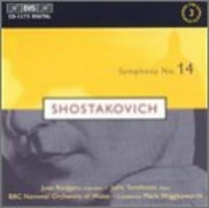 Shostakovich: Symphony No.14 album cover