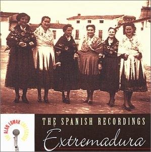 The Spanish Recordings: Extremadura album cover