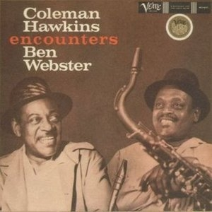 Coleman Hawkins Encounters Ben Webster album cover