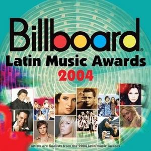 Billboard Latin Music Awards: 2004 album cover