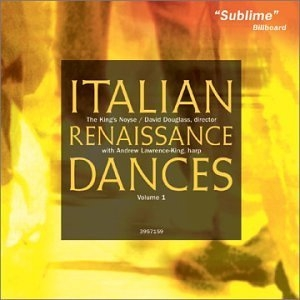 Italian Renaissance Dances Vol.1 album cover