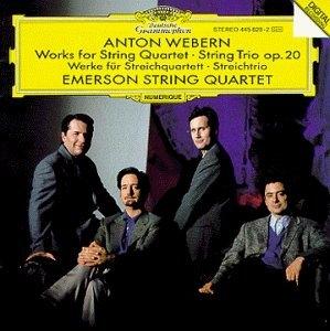 Webern: Works For String Quartet album cover