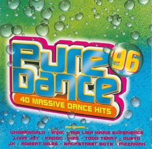 Pure Dance '96: 40 Massive Dance hits album cover