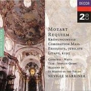 Mozart: Sacred Music album cover