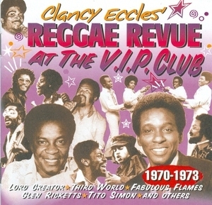 Reggae Revue At The VIP Club album cover