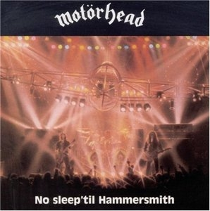 No Sleep Til Hammersmith album cover