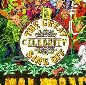 Golden Throats: The Celebrity Sing Off album cover