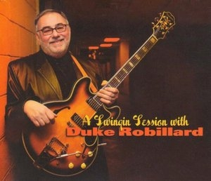 A Swingin Session With Duke Robillard album cover