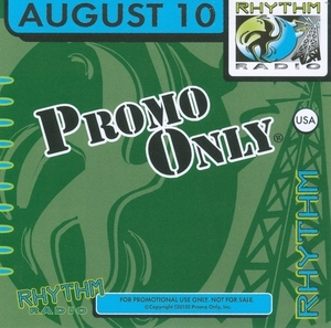Promo Only: Rhythm Radio August '10 album cover
