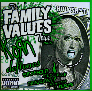 Family Values Tour 2006 album cover