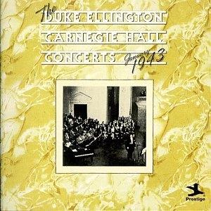 Carnegie Hall Concerts album cover