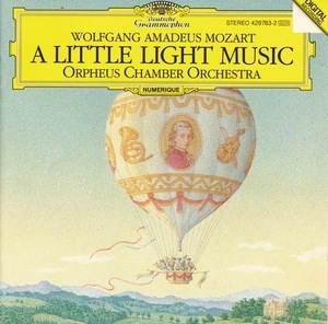 Mozart: A Little Light Music album cover