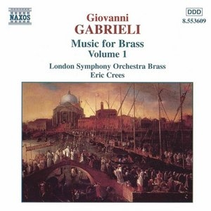 Gabrieli-Music For Brass Vol.1 album cover