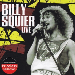 The Best of Billy Squier Live (Priceless Collection) album cover