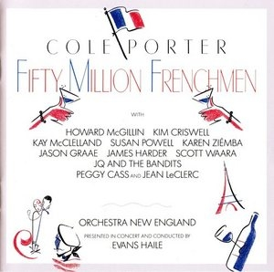 Fifty Million Frenchmen (1991 Studio Cast)  album cover