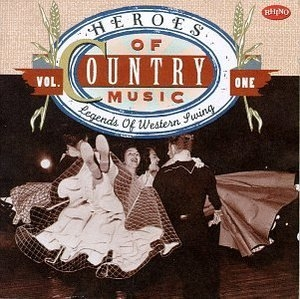 Heroes of Country Music, Vol.1: Legends of Western Swing album cover
