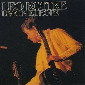 Live In Europe album cover