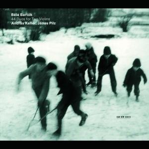 Bartok: 44 Duos For Two Violins album cover