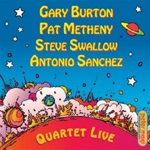 Quartet Live album cover