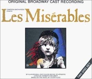 Les Miserables (1987 Original Broadway Cast) album cover