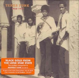 Texas Funk: Black Gold From The Lone Star State 1968-1975 album cover