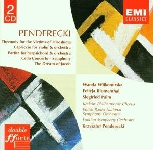 Penderecki: Orchestral Works album cover
