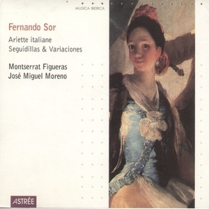 Fernando Sor-Ariette Italiane Seguidillas And Variaciones album cover