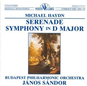 Michael Haydn: Serenade, Symphony In D Major album cover