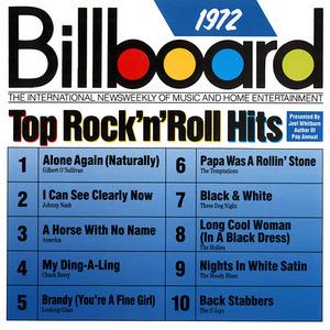 Billboard Top Rock 'N' Roll Hits: 1972 album cover