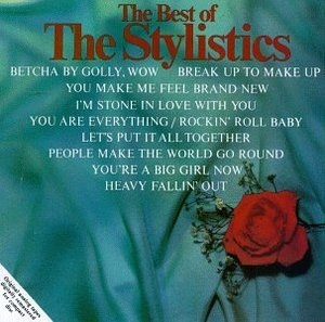 The Best Of The Stylistics (Amherst) album cover