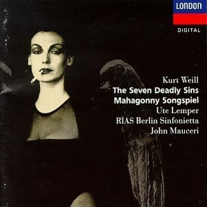 Weill: The Seven Deadly Sins, Mahagonny Songspiel album cover