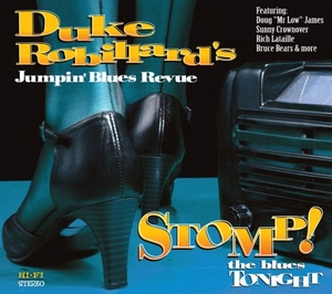 Stomp! The Blues Tonight album cover