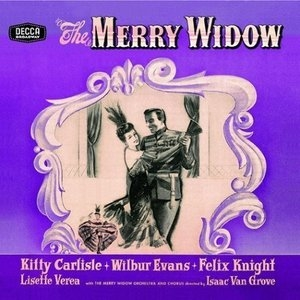 The Merry Widow (1943 Original Cast) album cover
