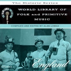 World Library Of Folk And Primitive Music: England album cover