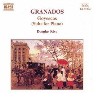 Granados: Goyescas (Suite For Piano) album cover