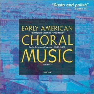 Early American Choral Music Vol. 2 album cover
