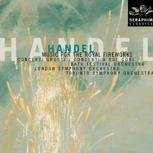 Handel: Music For The Royal Fireworks album cover
